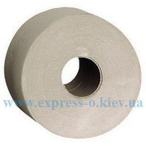 Изображение Бумага туалетная   Jumbo 1-слойная   серая 6 рулонов в упаковке