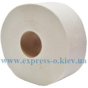 Изображение Бумага туалетная Jumbo 2-слойная белая 6 рулонов в упаковке