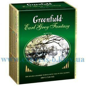 Изображение Чай черный Earl Grey с бергамотом  100 пакетов х 2 г