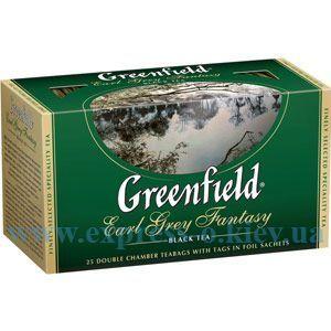 Изображение Чай черный Earl Grey с бергамотом  25 пакетов х 2 г