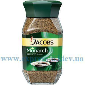 Изображение Кофе Jacobs Monarch 95 г растворимый в стекляной банке
