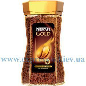 Изображение Кофе Nescafe Gold растворимый 190 г