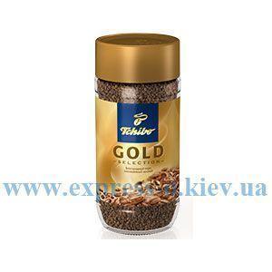 Изображение Кофе Tchibo  Gold Selection растворимый 200 г