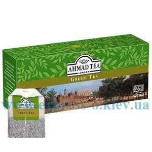 Изображение Чай Ahmad зеленый  Green Tea 25 пакетов х 2 г