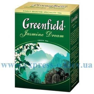 Изображение Чай Greenfield листовой зеленый Jasmine Dream 100  г