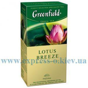 Изображение Чай Greenfield травяной Lotus Breeze  25 пакетов х 1,5 г