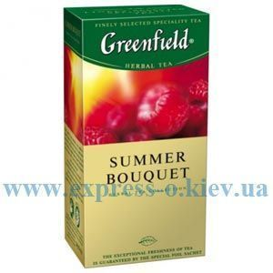 Изображение Чай Greenfield травяной Summer Bouquet   25 пакетов х 1,5 г