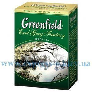 Изображение Чай листовой черный  Greenfield Earl Grey Fantasy 100 г