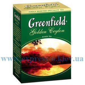 Изображение Чай листовой черный  Greenfield Golden Ceylon   100 г