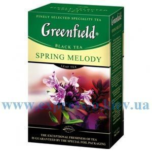 Изображение Чай листовой черный Greenfield Spring Melody 100  г