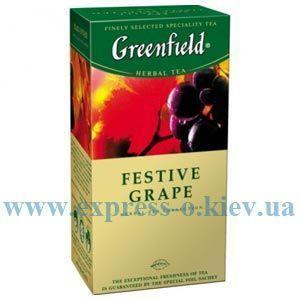 Изображение Чай травяной Greenfield Festive Grape   25 пакетов х 1,5 г