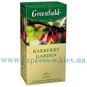 Изображение Чай черный  Greenfield Barberry Garden   25 пакетов х 1,5 г