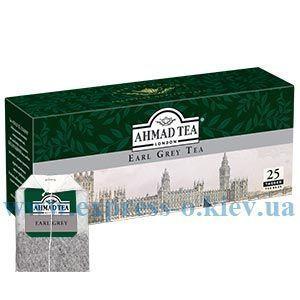 Изображение Чай черный Ahmad Earl Grey 25 пакетов х 2 г