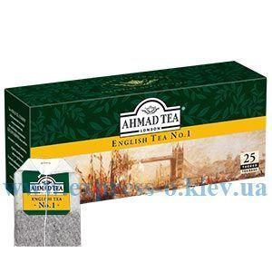 Изображение Чай черный Ahmad Английский №1 40 пакетов х 2 г