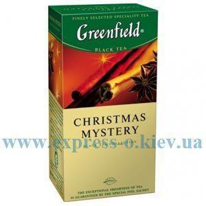 Изображение Чай черный Greenfield Christmas Mystery  25 пакетов х 1,5 г