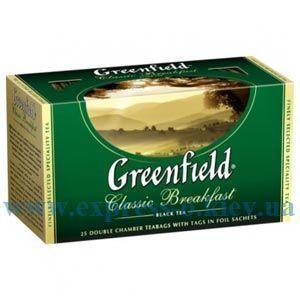 Изображение Чай черный Greenfield Classic Breakfast 25 пакетов х 2 г