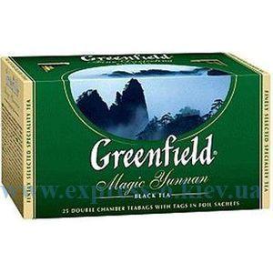 Изображение Чай черный Greenfield Magic Yunnan  25 пакетов х 2 г