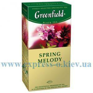 Изображение Чай черный Greenfield Spring Melody   25 пакетов х 2 г
